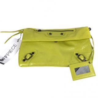 Balenciaga Green Classic Envelope Bag