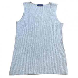 Winser London Ribbed Grey Top
