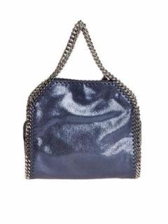 Stella McCartney Metallic Blue Falabella Tote bag