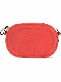 Valentino Garavani Pink Round Cross Body Bag