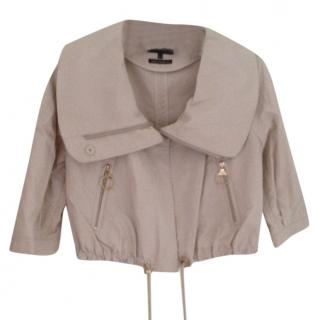 Mulberry Cropped Jacket size 8