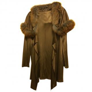 Jitrois Beaver Fur Cardigan