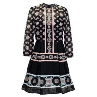 Elie Saab Floral Crochet Couture Dress