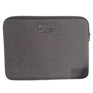 Marc by Marc Jacobs grey laptop case