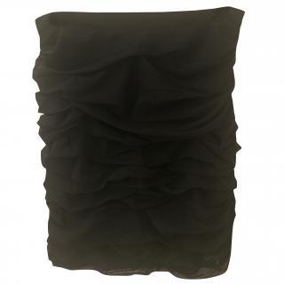 Love Moschino ruffle black skirt
