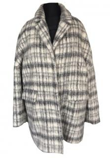 I Blues Alpaca and Wool Oversized Coat