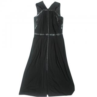 Bottega Veneta Black Dress with Embellishments