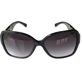 Chanel Black Square Sunglasses