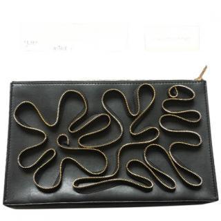 Stella McCartney Black Embellished clutch