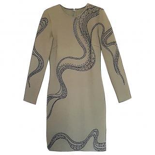 Emilio Pucci Embellished Jersey Dress