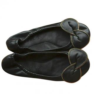 See By Chloe Black Leather Pumps