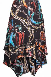 Emilio Pucci pearl mermaid skirt
