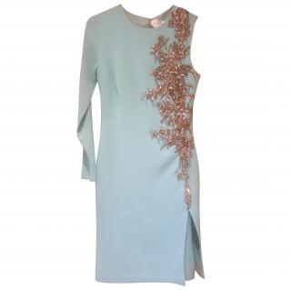Philip Armstrong Embellished Asymmetric Dress