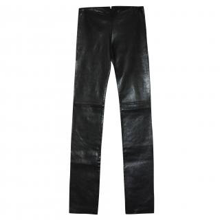 Jitrois Leather Leggings/trousers