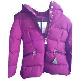 Moncler girl's purple jacket