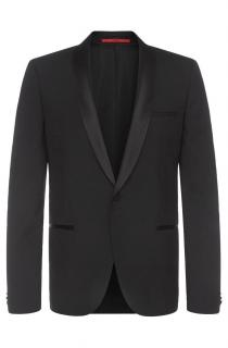 Hugo Boss Slim-fit dinner jacket in stretchy new wool: 'AlstonS