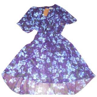 Wrap of London floral dress