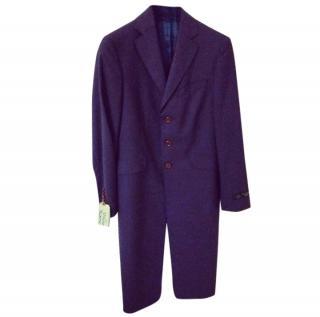 Vivienne Westwood Men's Purple Coat