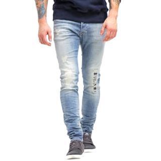 Diesel Sleenker 0672I Skinny Light Blue Jeans