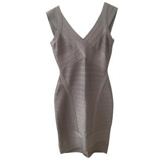 Classic Herve Leger bandage dress