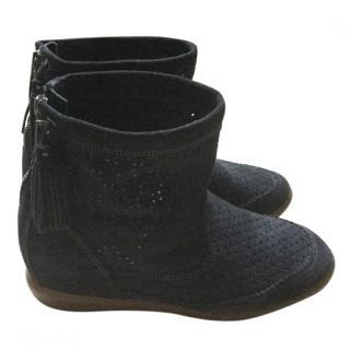 Isabel Marant Bailey hidden wedge suede boots