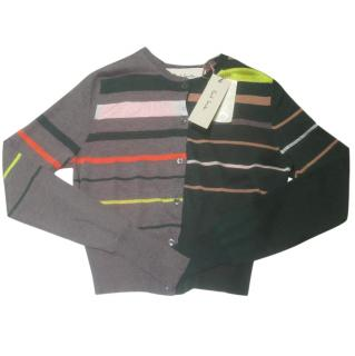 Paul Smith Silk Mix Striped Cardigan Gift wrapped