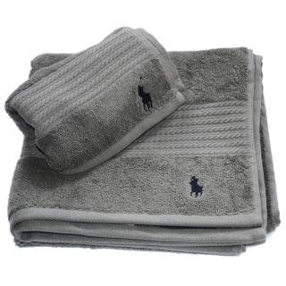 Ralph Lauren Home grey towel set