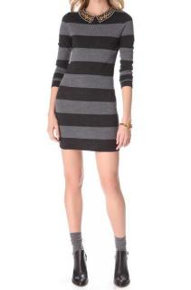 Gryphon Rugby Stripe Sweater Dress