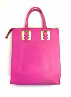 Sophie Hulme 'Albion' Large Leather Tote Bag