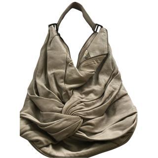 Burberry pale grey shoulder bag
