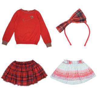 ILoveGorgeous Girls Skirt and Jumper and Ikks Love&Fun Girls Skirt