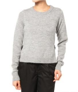 Gryphon Grey Mohair Sweater
