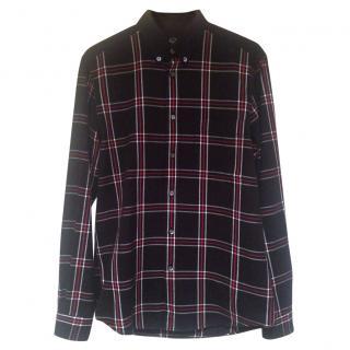 McQ Alexander McQueen check shirt