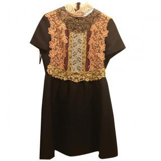 Valentino Lace Embroidered Dress