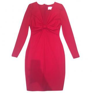 Valentino Red Wool Dress