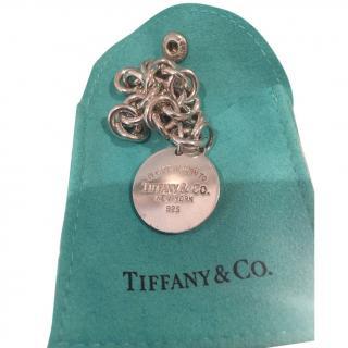 Tiffany & Co Return to Tiffany round tag bracelet
