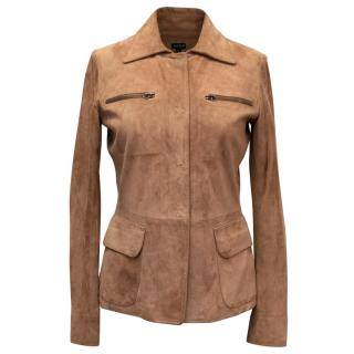 Joseph Brown Suede Jacket