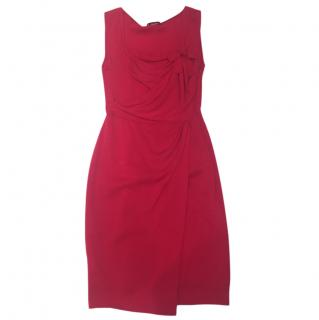Moschino Cheap and Chic Red Cocktail dress