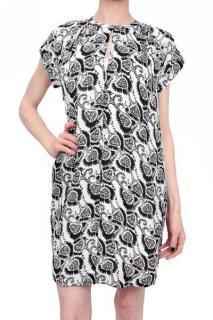 A.L.C Joans Black and White Dress
