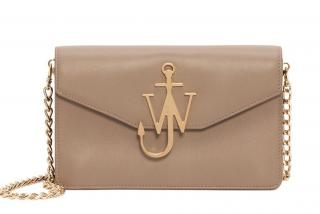 J W Anderson Ash Logo Purse with Chain