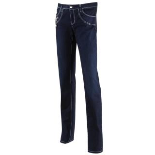 Moschino Straight Leg Blue Denim Jeans