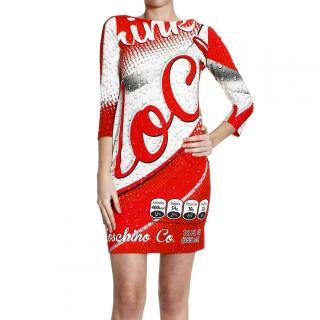 Moschino Coca Cola Dress