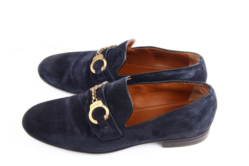 Jimmy Choo Mens Handcuff Loafers Shoes