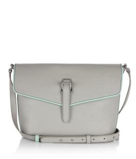 Meli Melo Women's Grey Maisie Medium Cross Body Bag Lunar Grey Green