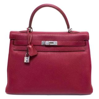 Hermes Rubis Kelly 35cms Bag