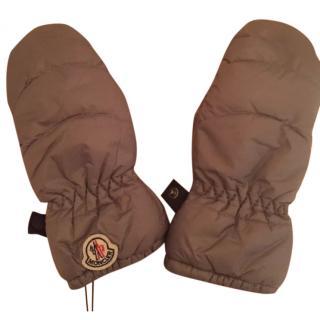 Moncler Grey Sport Gloves