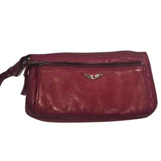 Zadig & Voltaire Red Pouch