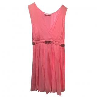 Matthew Williamson Short Pink Dress