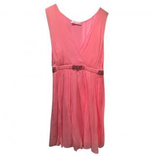 Matthew Williamson Short Pink Dress