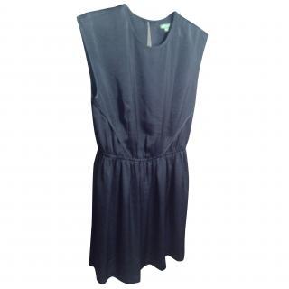 Armani Exchange Blue Sleeveless Dress